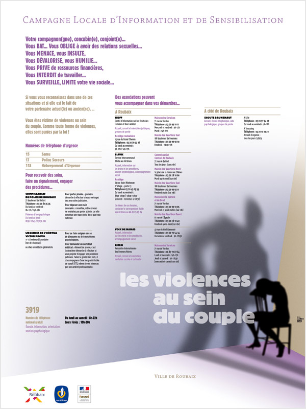 Affiche Violence