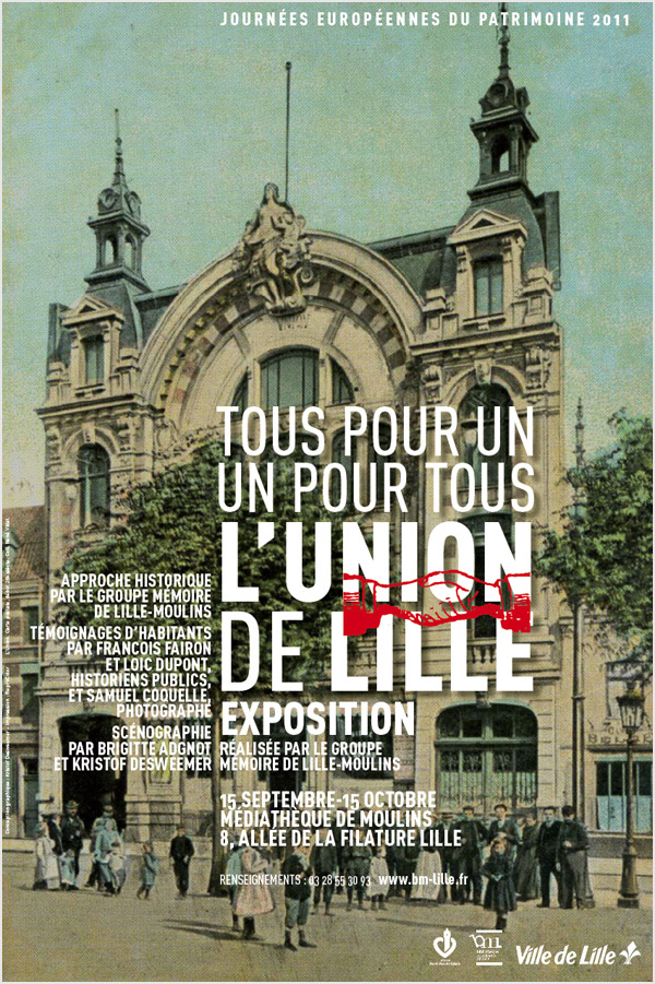 Affiche Lille-Moulins