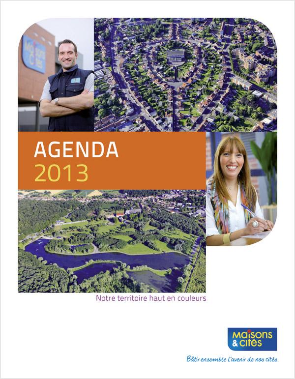 Couverture agenda