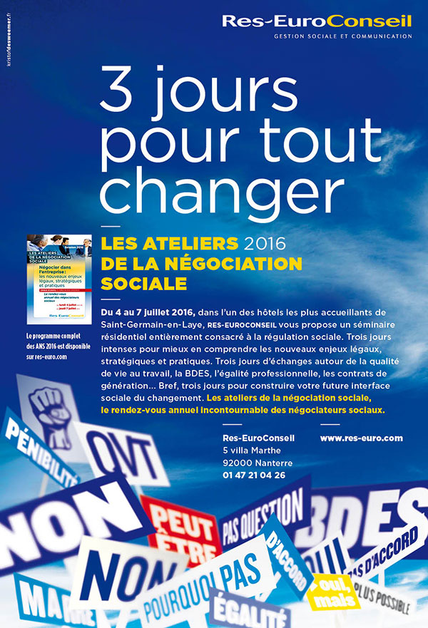 Annonce ANDRH 2015