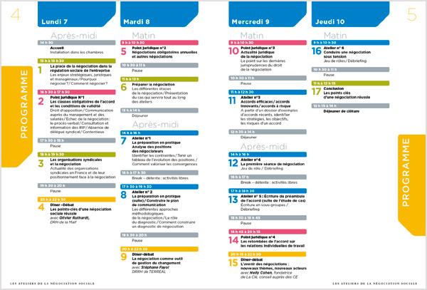 Page 4-5 de la brochure