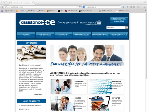 site web assistance-ce
