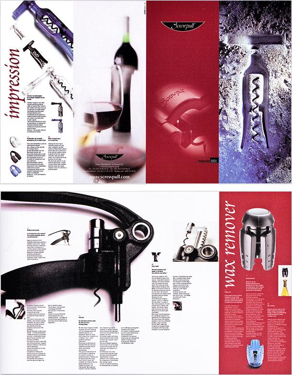 Brochure de présentation des produits screwpull