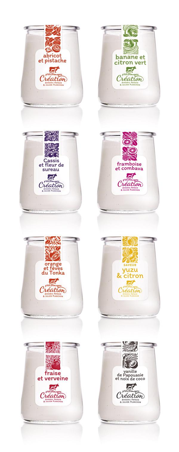 Prise de vue de la gamme yaourt Les Ptits Fromagers